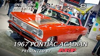 1967 Pontiac Acadian in BASF Display SEMA 2015 Video V8TV