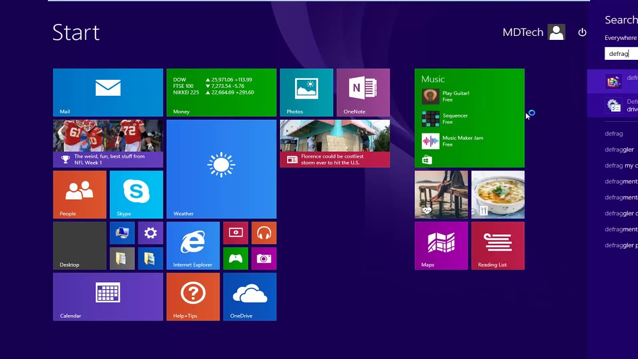 Defragment and Optimize Your Hard Drive in Windows 8 - YouTube