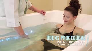 Ūdens dziedniecības procedūras Latvijas Jūras medicīnas centrā promo video