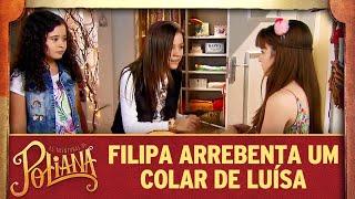 Filipa arrebenta um colar de Luísa | As Aventuras de Poliana