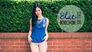 Style Bite | Blue Monochrome Thumbnail