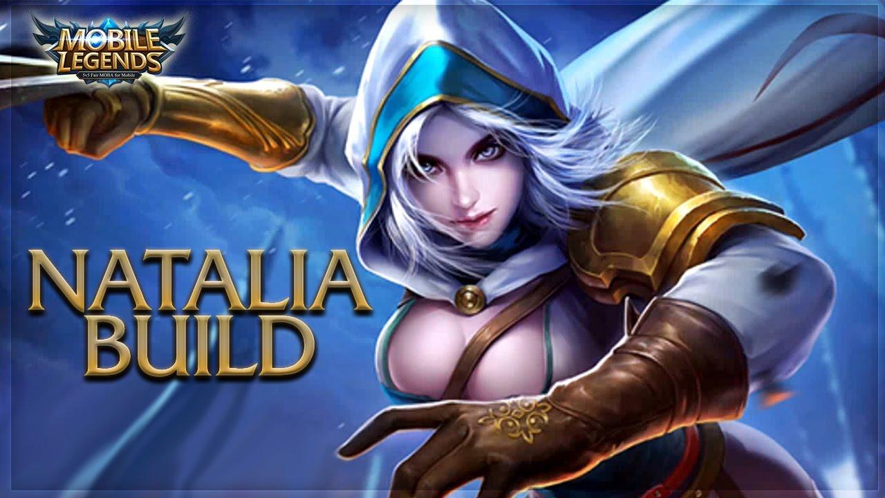 Mobile Legends: NATALIA UNSTOPPABLE BUILD - YouTube