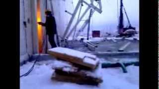 Высотные работы | Демонтаж металлоконструкций(Демонтаж металлокаркаса здания высотниками Xropes.ru., 2014-03-19T06:23:42.000Z)
