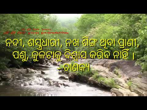 Odia Anabana Video.. Odia Loka Bani ..odia Loka Katha Image Video...chanakya Niti.. By S  B  For You