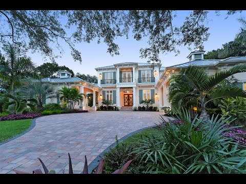 Elegant West Indies Style Home In Sarasota Florida Youtube