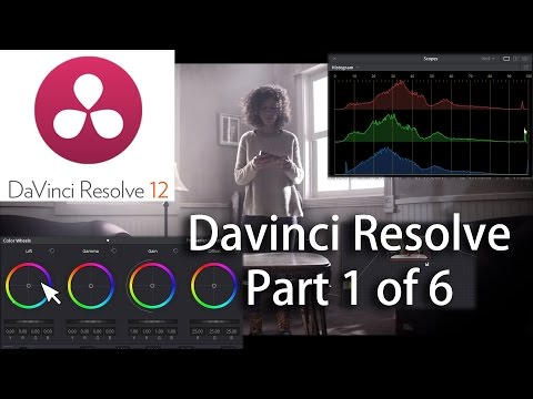Davinci Resolve 12 Basics Part 1 of 6 Sending a project to Resolve