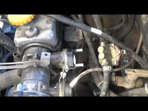 Неисправности бензонасоса - закипание  установка на мотор