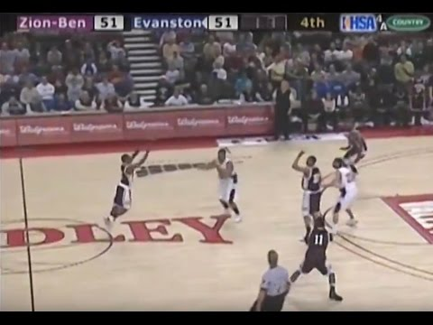 2008 IHSA Boys Basketball Class 4A Semifinal Game: Zion-Benton vs. Evanston (Twp.)
