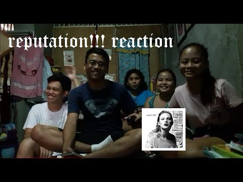 Taylor Swift - REPUTATION REACTION!!!