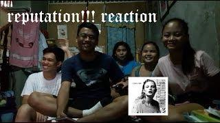 Taylor Swift - REPUTATION REACTION!!!