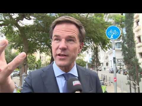 Prime Minister Mark Rutte of The Netherlands: Visit to Israel
