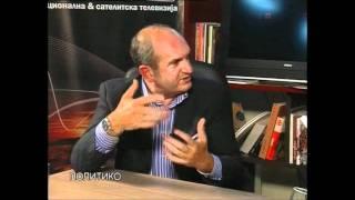 Vlado Buckovski gostin vo POLITIKO na Nasha TV 4 del