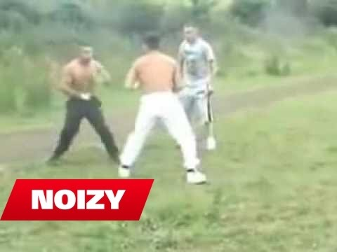 Noizy vs Colin Wibly - Street Fight 1