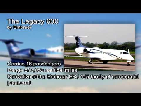 Embraer Legacy 600 video from JetOptions Private Jets