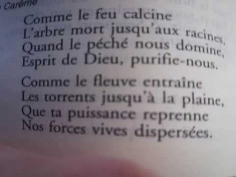 """Prière du Temps Présent : """"Comme le feu calcine"""" office de sexte p588"""