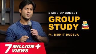 Group Study | Indian Stand Up Comedy on Hostel Group Study By Mohit Dudeja