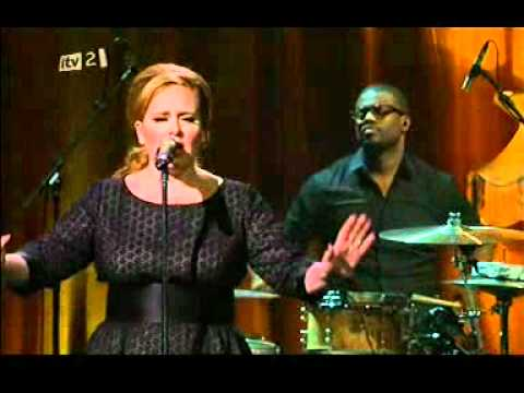 Adele Set Fire To The Rain iTunes Festival July 2011