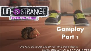 LIFE IS STRANGE BEFORE THE STORM Farewell Gameplay Walkthrough Part  -No Commentary