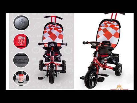 Наш велосипед Lexus Trike Original Next SPORT, Rich Toys, трехколесный, с ручкой.Отзыв