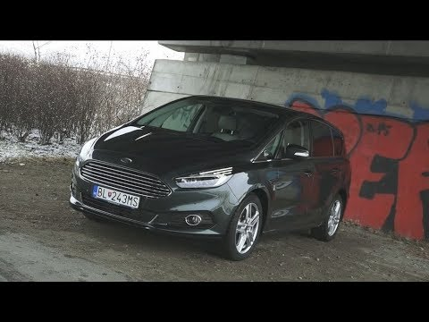 Ford S-Max 2017: Test