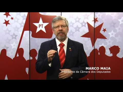 RS Ivoti   Deputado Marco Maia apoia para prefeito Edio Vogel