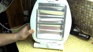Видео Обзор Инфракрасного обогревателя HYUNDAI H-HC3-08-UI998, 800Вт