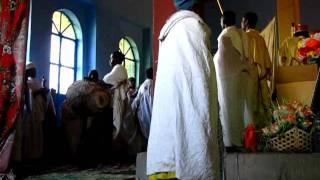 ETIOPIA - msza prawosławna