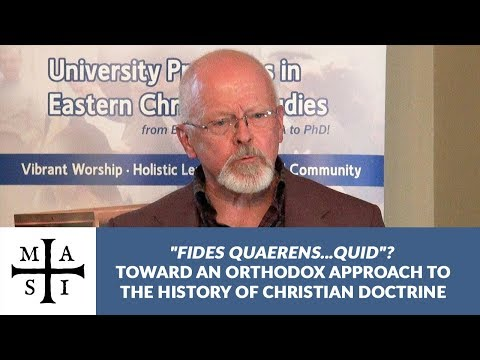 Toward an Orthodox Approach to the History of Christian Doctrine, James Payton