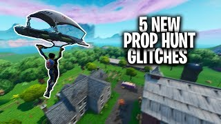 5 NEW WORKING FORTNITE PROP HUNT GLITCHES & HIDING SPOTS - PROP HUNT HIDING SPOTS