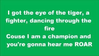 Gambar cover LYRICS Katy Perry   Roar (çook seviyorum şu şarkıyı)