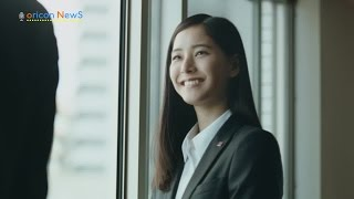 若手注目女優・新木優子が部下となり、向井理が頼りがいのある上司役を...