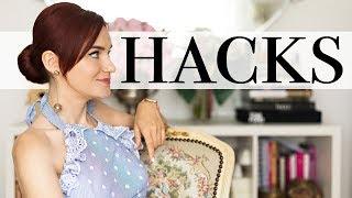 12 hackuri de moda care iti vor face viata mai usoara :)