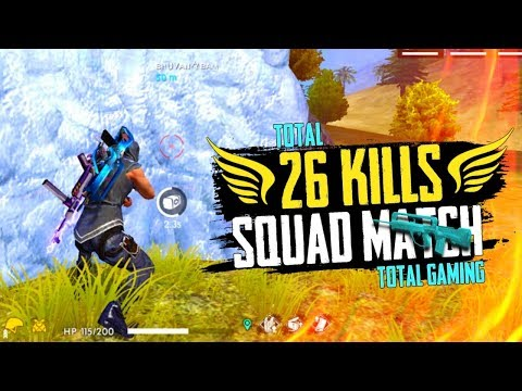 26 Kill In Squad Match Grand Master - Total Gaming