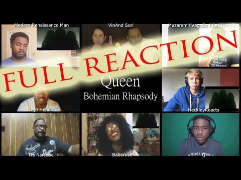 FULL MULTI REACTION Queen Bohemian Rhapsody / MULTI REACT-A-THON Mp3