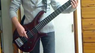 title : minoreba-rock artist : maximum the hormone bass : ZON sonus...