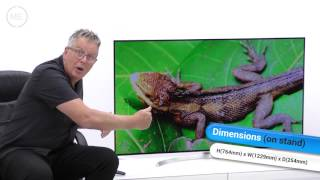 "LG OLED55B7V 55"" 4K Ultra HD OLED TV Review (with input lag testing)"