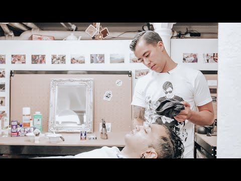 THE PERFECT SHAVE by Nomad Barber
