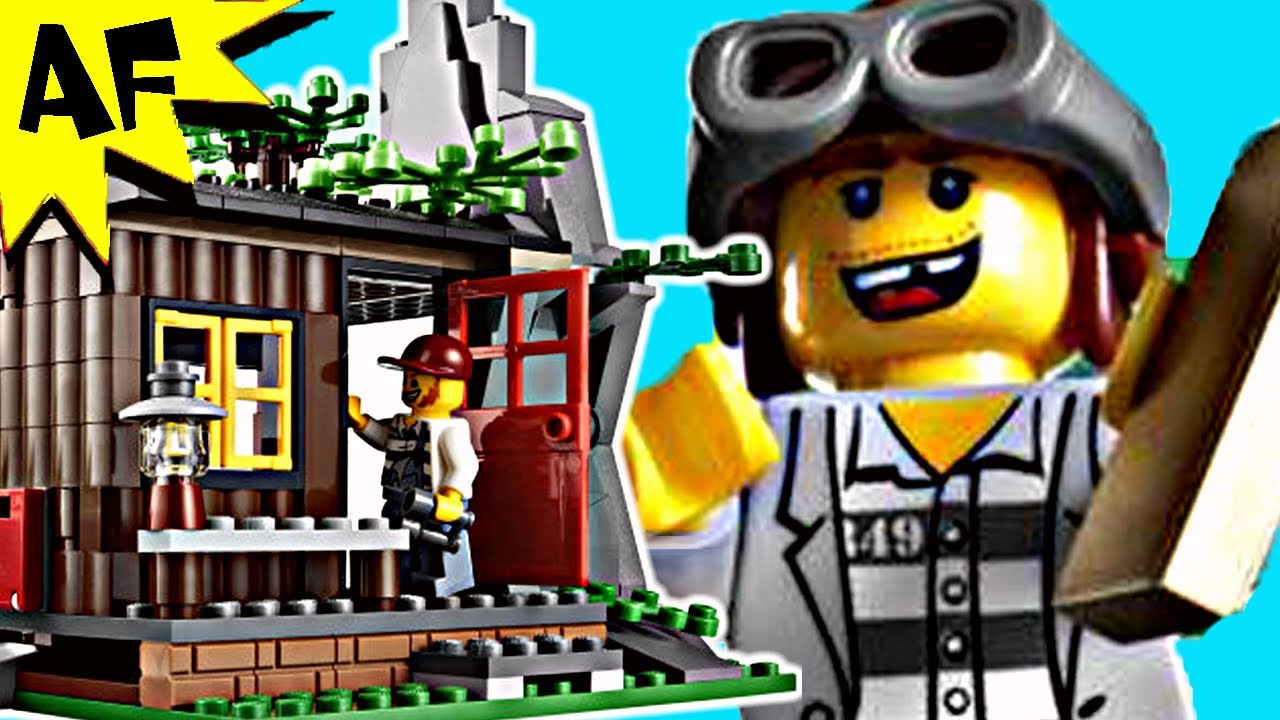 Lego How To Build A Lego Hideout For Robbers