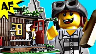 lego city robber s hideout 4438 stop motion build review