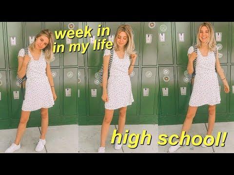 High School Week in My Life: Senior Year!