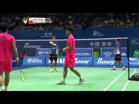 Liao M.C/Tseng M.H vs Wang Yilv/Zhang Wen | MD SF Match 5 - Bonny China Masters 2015