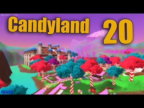 20 (+1 perfect) - Personal Best Candyland With Jump Score - Golf With Your Friends