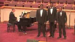 Gentlemen in Ensemble, Done Found My Lost Sheep -- arr. Donal Fox, 2013 Suitable Airs