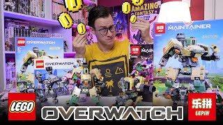 LEGO OVERWATCH в 3 раза дешевле! [LEPIN-Четверг]