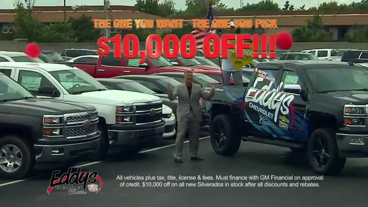 Eddy's Chevrolet Cadillac- $10,000 OFF Sale!- Wichita, KS