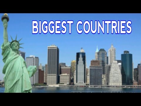 TOP 7 Largest Countries in the World.