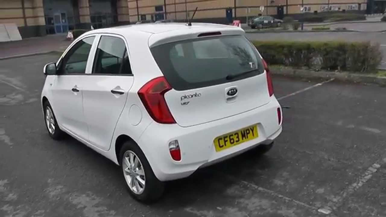 kia picanto vr7 1 0 manual white cf63mpy wessex garages newport youtube. Black Bedroom Furniture Sets. Home Design Ideas