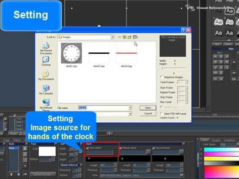 VisualCG 3D [Chapter01] Analog Clock.