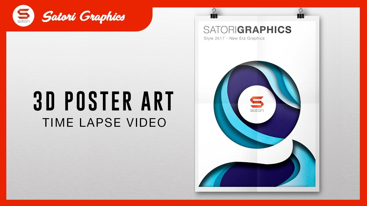 designing dope poster art 3d poster design youtube designing dope poster art 3d poster design