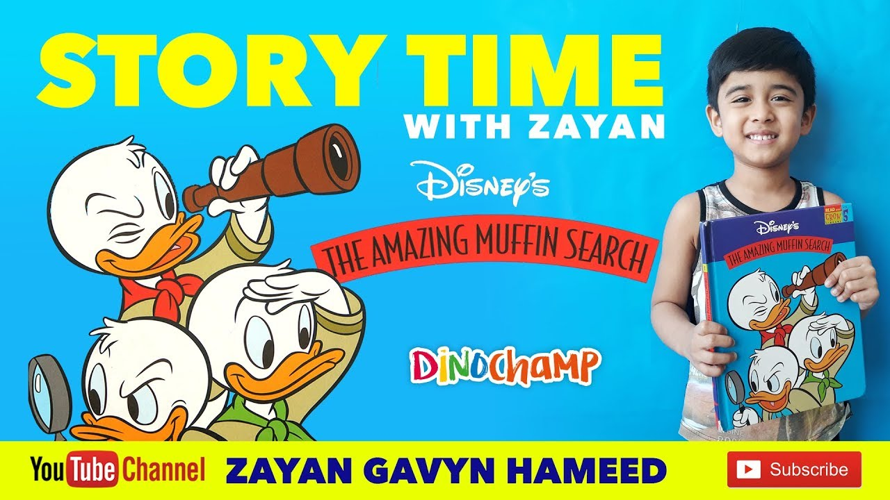 Stories for Kids (English) - Disney's || The Amazing Muffin Search